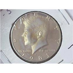 1981-S Kennedy Half (Proof)