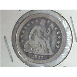 1842-O Seated Liberty Dime