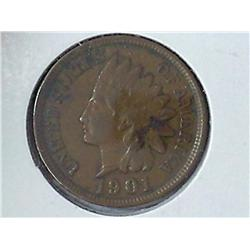 1901 Indian Head Cent (VF)