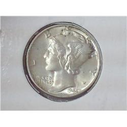 1944 Mercury Dime (UNC)