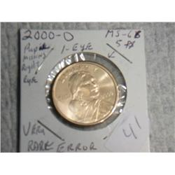 2000-P SACAGAWEA DOLLAR 