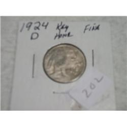 1924-D BUFFALO NICKEL
