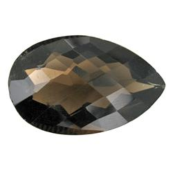 18.5ct Shimmering Natural Smoky Quartz (GEM-25557B)