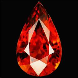 3.65ct Top Orange Red Spessartite Garnet (GEM-21450)