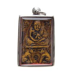 Antique Clay Buddha Amulet  (ANT-625)