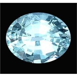 2.26ct Dazzling Natural Blue Aquamarine Oval Africa  (GEM-22714)