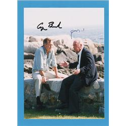 George Bush and Yitzhak Rabin
