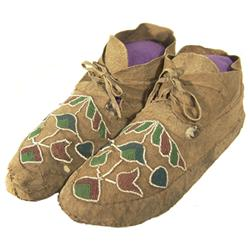 Menominee Beaded Moccasins