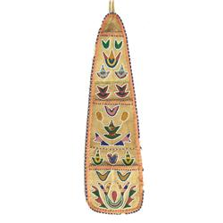 Santee Sioux Beaded Wall Pocket