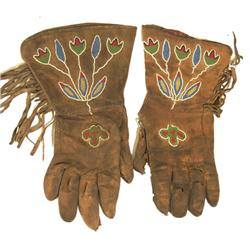 Sante Sioux Beaded Gloves
