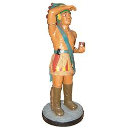 Antique Cigar Store Indian