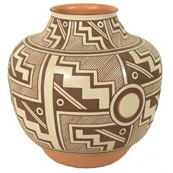 Zuni Pottery Jar - Randy Nahohai