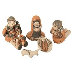 Acoma Nativity Set - Ethyl