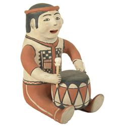 Cochiti Pottery Figure - Seferina Ortiz