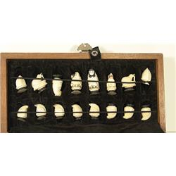 Eskimo Ivory Chess Set