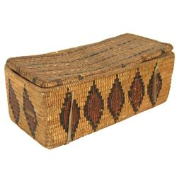 Lillooet Basketry Box