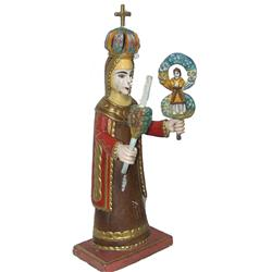 Mexican Religious Figurine