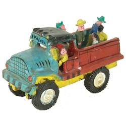 Jalisco Pottery Truck - Calendario Medrano