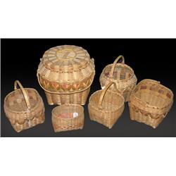 6 Woodlands Baskets