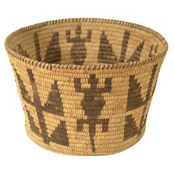Papago Figured Basket
