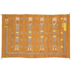 Navajo Yei Rug - Mary Sam