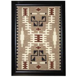 Navajo Two Gray Hills Rug - Alberta Thomas