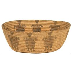 Tohono O'odham Figured Basket