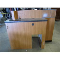 Bank Teller Drop Desk