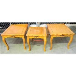 3 Matching End Tables