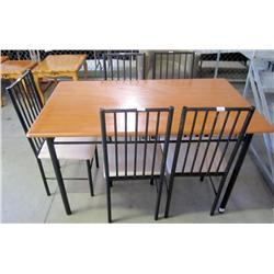 Dining Table with 5 Matching Chairs
