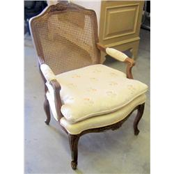 Wicker Back Chair