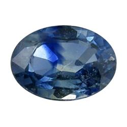 0.39ct Blue Natural Sapphire Oval Facet (GEM-0281C)