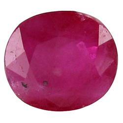 1.02ct Sublime Pinkish Red Vietnamese Ruby Oval (GEM-19557A)