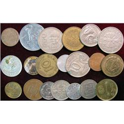 819. (20) Mixed Foreign Coins.