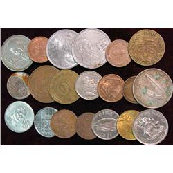 820. (20) Mixed Foreign Coins.