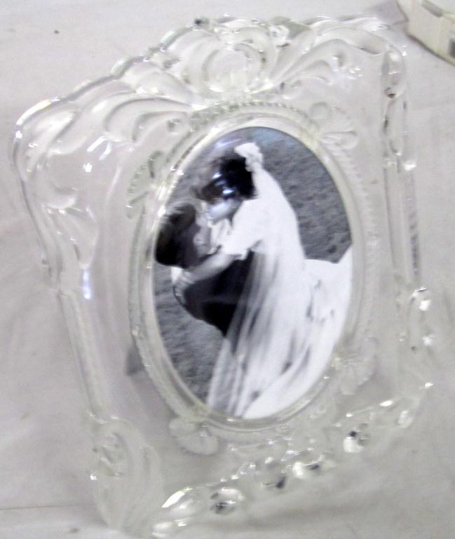 Mikasa Crystal Picture Frame