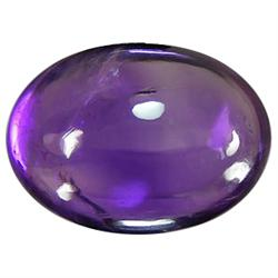1.48ct Oval Cabochon Violet Amethyst (GMR-0919A)