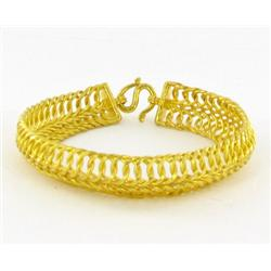 1/2+ Ounce New 23k Gold Bracelet (JEW-1485)