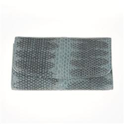 Ladies Gray Sea Snake Wallet (ACT-020)