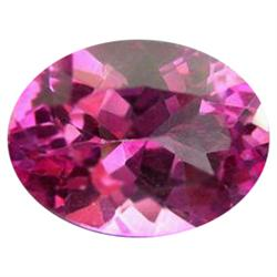 1.09ct Charming Mystic Pink Oval Topaz Appraisal Estimate $2725 (GEM-24276I)