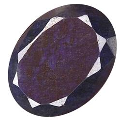 43.91ct. Rich Royal Blue African Sapphire Oval Cut (GEM-21318)