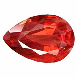 0.88ct Natural Red Andesine  (GEM-19777)