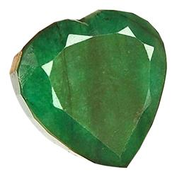 14.78ct. Excellent Heart Cut S. American Emerald (GEM-24076)