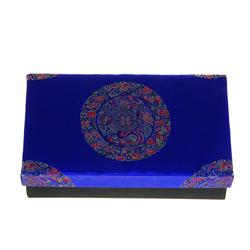 Handmade Silk Covered Box  (DEC-087)
