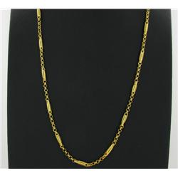 "22k Gold Vermeil Necklace 24"" (JEW-1379)"