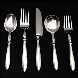 Hand Forged Stainless Flat Ware Set 20 Pcs (DEC-326)