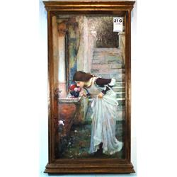 The Shrine; Artist: J. J. W. Waterhouse