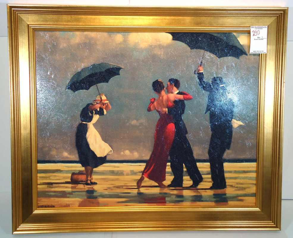 the singing butler artist vettriano. Black Bedroom Furniture Sets. Home Design Ideas