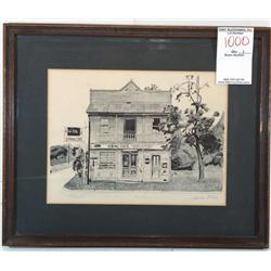 The Old Spring Café; Artist: Shelton Miles
