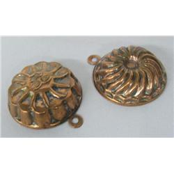 Pr Miniature Copper Molds